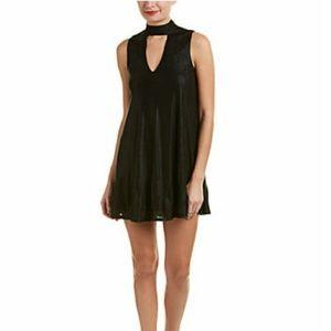 J.O.A chocker neck shift dress